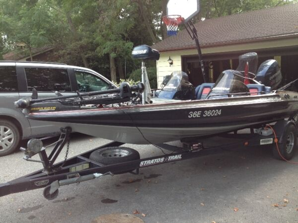 Used 1996 Stratos Boat Co 185 XLT