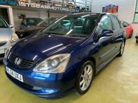 2004 Honda Civic 1.6 i-VTEC SE Executive 5dr Auto HATCHBACK Petrol Automatic