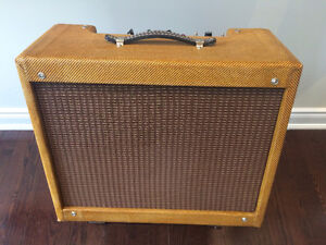 5e3 Tweed Deluxe clone (a Trinity Amps Tweed)