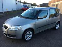 5607 Skoda Roomster 1.4TDI PD ( 80bhp ) 2 Beige 5 Door MOT July 2018
