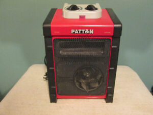 patton brand blower and heater