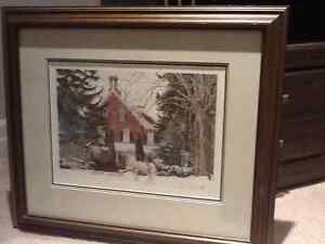 """Walter Campbell """"Winter Outing"""""""
