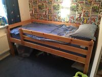 Mid height cabins bunk £50