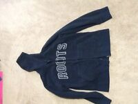 Roots fleece sweater large