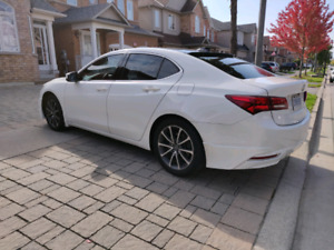 Acura TLX rare brown leather