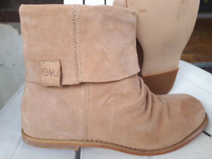 ❤️EMU SUEDE LEATHER LIGHT BROWN BOOTS❤️