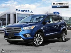 2017 Ford Escape Titanium AWD-LEATHER-NAV-POWER ROOF