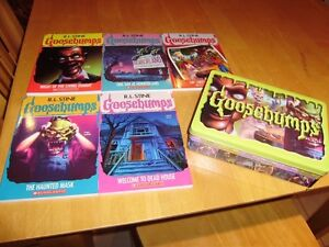 GOOSEBUMPS RETRO SCREAM COLLECTION BOX SET NEW