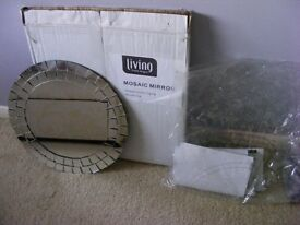 New with Box Mosaic Mirror