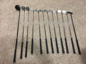 Men's left handed golf clubs with bag Strathcona County Edmonton Area image 1