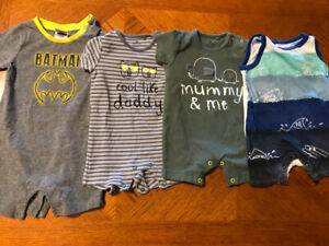 Boys 12 months short outfits $2 each or all for $6
