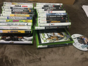 XBOX 360 Games Library