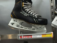 Bauer Supreme One.8 Ice Skates Excellent Condition