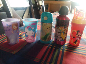 Gourde fée clochette / Tinker Bell thermos. Monster high, Minnie