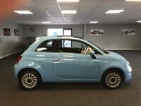 2017 Fiat 500 1.2 Lounge (s/s) 3dr