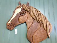 Horse by Woodworker Willie