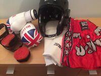 Child's kickboxing kit
