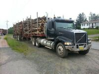 HIRING EXPERIENCED LOG TRUCK DRIVER
