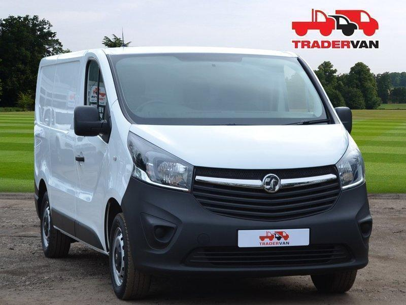 9df6b5f4691350 2015 VAUXHALL VIVARO 2700 L1 H1 1.6 CDTI 115PS Panel Van DIESEL MANUAL