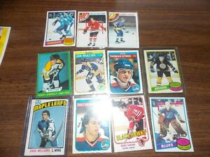 Vintage hockey cards