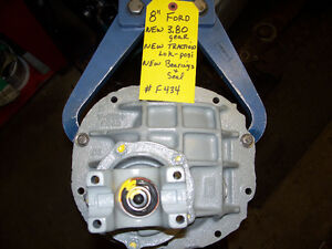 Ford 8 inch differential
