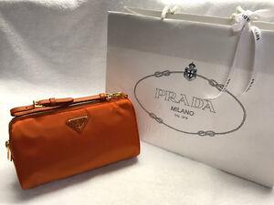 [New] Genuine Prada Cosmetic Bag + Authenticity Certificate