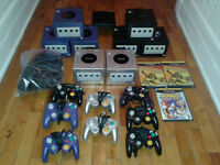 Lot de Gamecube, Playstation et Gameboy Advance
