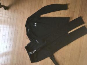 Underarmour shirt/RBK pant