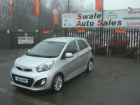 2011 KIA PICANTO 3 1.2L ONLY 28,566 MILESFULL SERVICE HISTORY, £20 A YEAR TAX