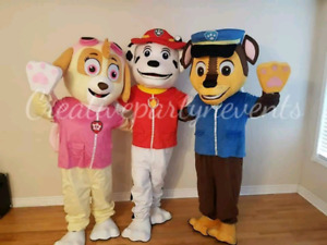 MASCOTS FOR YOUR EVENT