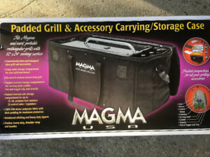 New Magma padded grill carrying case