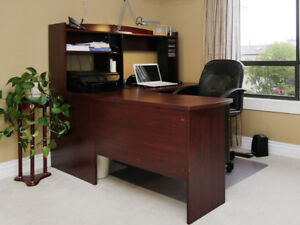 OFFICE DESK plus Matching bookshelves