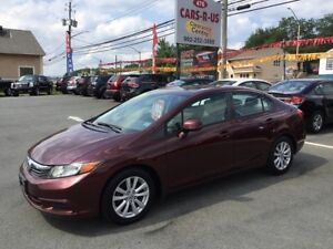 2012 Honda Civic LX   FREE 1 YEAR PREMIUM WARRANTY INCLUDED!