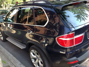2007 BMW X5 Cuire beige toit pano full equiped VUS