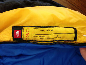 North Face mummy-style sleeping bag -7 Celsius comfort rating