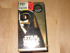 Starwars Trilogy Special Edition Boxed Set VHS Kitchener / Waterloo Kitchener Area image 1