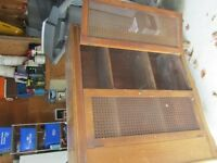 antique pie safe (cabinet)