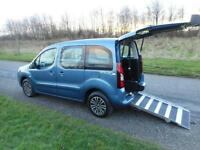2013 Peugeot Partner Tepee 1.6 Hdi ONLY 12K Wheelchair Accessible Disabled WAV