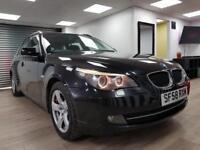 BMW 520 2.0TD SE Touring DIESEL BLACK ESTATE WARRANTY 12 MONTHS MOT FULL SERVICE