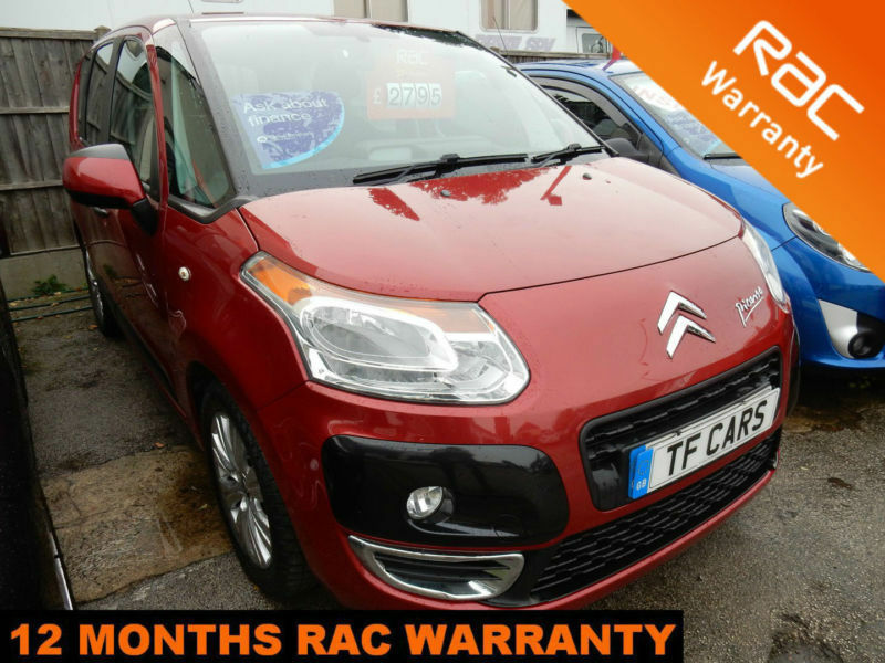 2009 Citroen C3 Picasso 1.6HDi VTR+ - FINANCE FROM ONLY £18 PER WEEK!