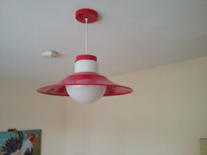 Pendant lamp. Brightens up any room.