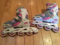 Adjustable Inline Skates, Rollerblades