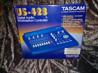 Tascam US-428 4 Channel Audio Interface / DAW Controller