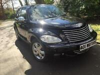 Chrysler PT Cruiser 2.2CRD Limited,includes warranty,LEATHER SEATS,CHROME ALLOYS
