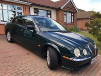Jaguar S Type -3 Litre V6 Petrol - Auto - 1 Owner from new - Low mileage