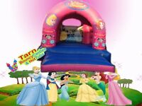 12x15 commercial princess bouncy castle for sale