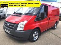 "2007 ""57"" Ford Transit 2.2 260S Low Roof Panel Van,1 Owner, FSH ( swb 280 300"