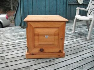 small bookcase/end table
