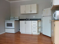 Quiet clean 1 bedroom apartment with A/C available immediately