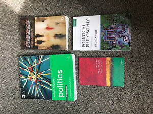POLITICAL SCIENCE 1020E TEXTBOOKS FOR SALE